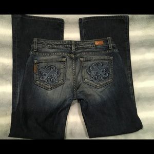 "PAIGE ""Hollywood Hills"" bootcut jeans size 29"